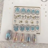 Кристалл Nails, Наклейка 5D стикер для дизайна ногтей SP 245