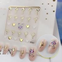 Кристалл Nails, Наклейка 5D стикер для дизайна ногтей SP 301