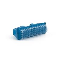 Щеточка для ногтей синяя с изогнутыми ручками_1