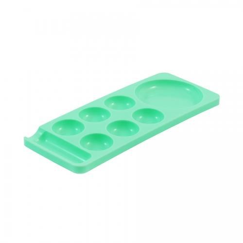 Палитра для шеллака, зеленая, малая