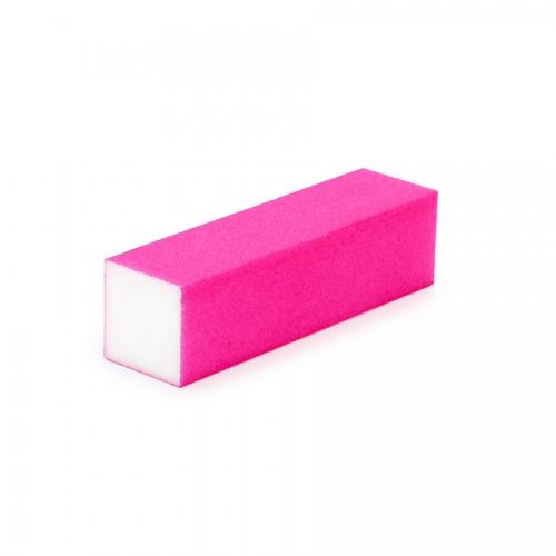 Бафик полировочный четырехсторонний розово-белый