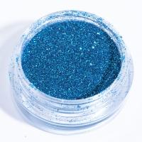 Блестки голубые для дизайна ногтей_1