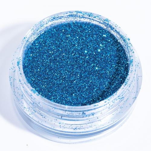 Блестки голубые для дизайна ногтей