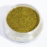 Блестки светло-золотые для дизайна ногтей_1
