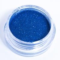Блестки синие для дизайна ногтей