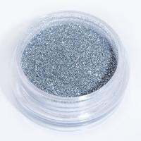 Блестки серебряные для дизайна ногтей_1