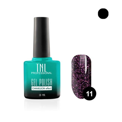Гель-лак TNL - chameleon эффект №11 - пурпурная темная материя