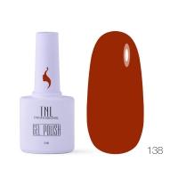 Гель-лак TNL 8 Чувств №138 - красная охра  (10 мл.)