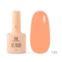 Гель-лак TNL 8 Чувств №143 - мандариновый (10 мл.)