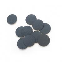 Smart, Сменные файлы диск Baby черный, 80 грит, 50 шт. на липкой основе