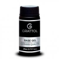 База Каучуковая Гипоаллергенная для гель-лака Grattol IQ Rubber Base Gel (20 мл.)