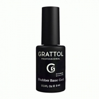 Топ для гель-лака без липкого слоя Grattol No Wipe Top Gel (9мл.)