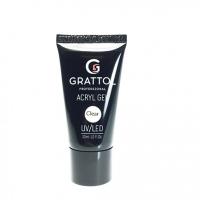 Grattol, Акрил-гель Acryl Gel Clear (30 мл.)