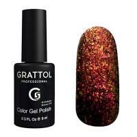 Гель-лак Grattol Хамелеон GTG004 Galaxy Copper (9мл)