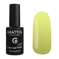 Гель-лак Grattol GTC125 Light Yellow (9 мл.)