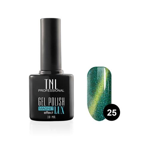 Гель-лак TNL - magnet lux №25 - блестящий бирюзовый
