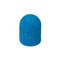 Колпачок песочный, синий, диаметр 13 мм, 80 грит