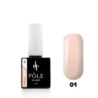 POLE, Гель-лак Color base Glamour №01 (8 мл)