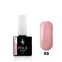 POLE, Гель-лак Color base Glamour №03 (8 мл)