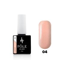 POLE, Гель-лак Color base Glamour №04 (8 мл)