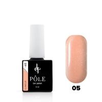 POLE, Гель-лак Color base Glamour №05 (8 мл)