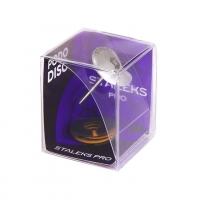 STALEKS PRO, Педикюрный диск зонтик PODODISC M и сменный файл-кольцо 180 грит 5 шт (20 мм)