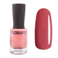 MASURA , Лак для ногтей Клубничный Марципан, 11 мл