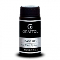 Каучуковая экстрагустая база для гель-лака Grattol Rubber Base Gel EXTRA Cremnium (20 мл)