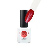 UNO Lux professional, Гель-лак Verbena Red (№016 Красная Вербена), 8 мл