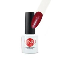 UNO Lux professional, Гель-лак Madder Red (№017 Мареновый красный), 8 мл