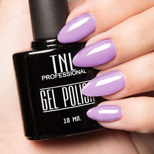 Цветной гель-лак TNL №013 - светло-фиолетовый (10 мл.)