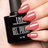 Цветной гель-лак TNL №018 - персидский красный (10 мл.)_1