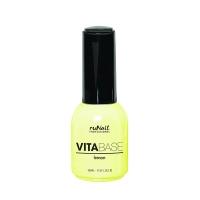 RuNail, Основа для гель-лака с концентратом лимона VITABASE LEMON №2394, 15 мл
