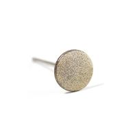 Кристалл Nails, Алмазная насадка (круг) двухсторонняя S, 15 мм