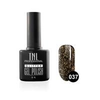 Гель-лак TNL - GLITTER №37 - Черный (10 мл.)