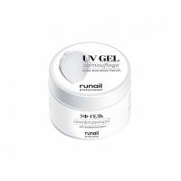 RUNAIL, УФ-гель камуфлирующий, фарфоровый френч №4070 (15 гр)