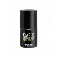 RuNail, Каучуковый топ для гель-лака без липкого слоя ELASTIC RUBBER TOP, №4474 (10 мл)