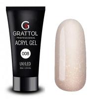 Grattol, Акрил-гель Acryl Gel 08 (30 мл.)
