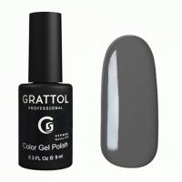 Grattol, Гель-лак  GTC018 GREY (9 мл.)