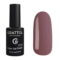 Гель-лак Grattol GTC176 SMOKY BORDEAUX (9 мл.)