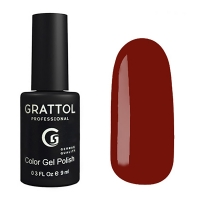 Гель-лак Grattol GTC187 TERRACOTTA (9 мл.)