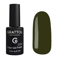 Гель-лак Grattol GTC192 DARK OLIVE (9 мл.)