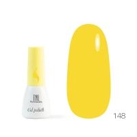 TNL, Гель-лак 8 Чувств Mini №148 - лимонный (3.5 мл)