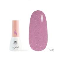 Гель-лак TNL 8 Чувств Mini №345 - розовый блеск (3.5 мл.)