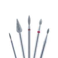 Кристалл Nails, Набор алмазных фрез для педикюра №30 (5 шт.)