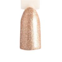 ONIQ, Гель-лак Eve №123S, Bronze Glitter (6 мл)