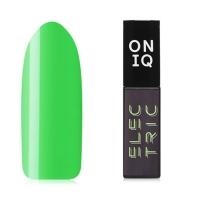ONIQ, Гель-лак Electric №151s, Llight Green (6 мл)