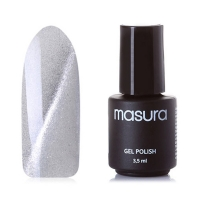 MASURA , Гель-лак BASIC Белый Кошачий Глаз, 295-58M, 3,5 мл