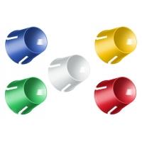 RuNail, Стаканчик (пластик, 5 цветов в ассортименте)