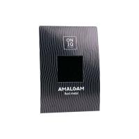 ONIQ, Amalgam Fluid metal: Black Metallic Nail Foil - Фольга для дизайна ногтей ONF-004 (черная)